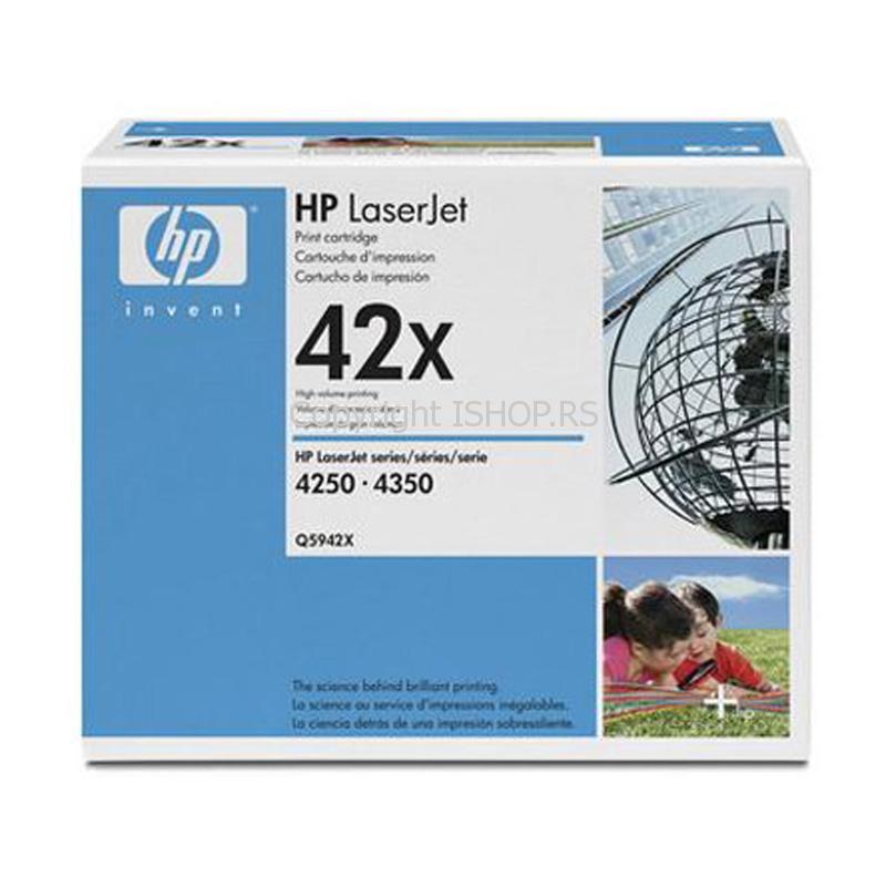 Original toner HP Q5942X LaserJet 4250 4350 click/esc - zatvori