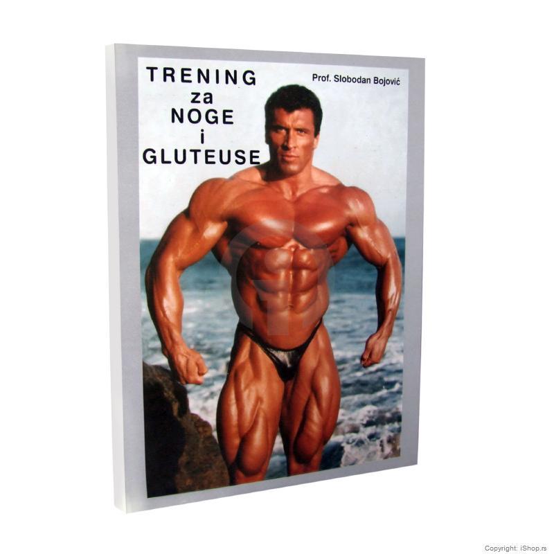 Knjiga Body Building Trening Noge Gluteuse Vezbanje Rekreacija